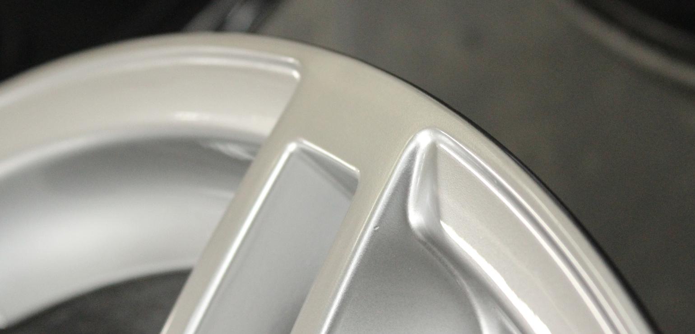 Felge lackiert 2 repariert
