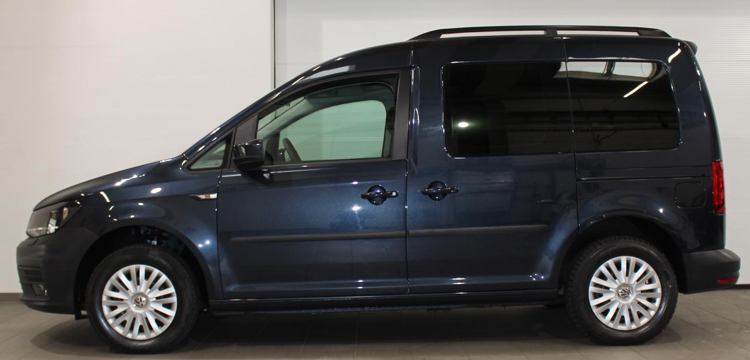 Scheibentönung Caddy in premium black