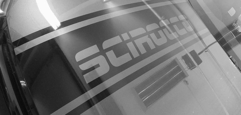 Motorhaube Scirocco Schriftzug Kotfluegel
